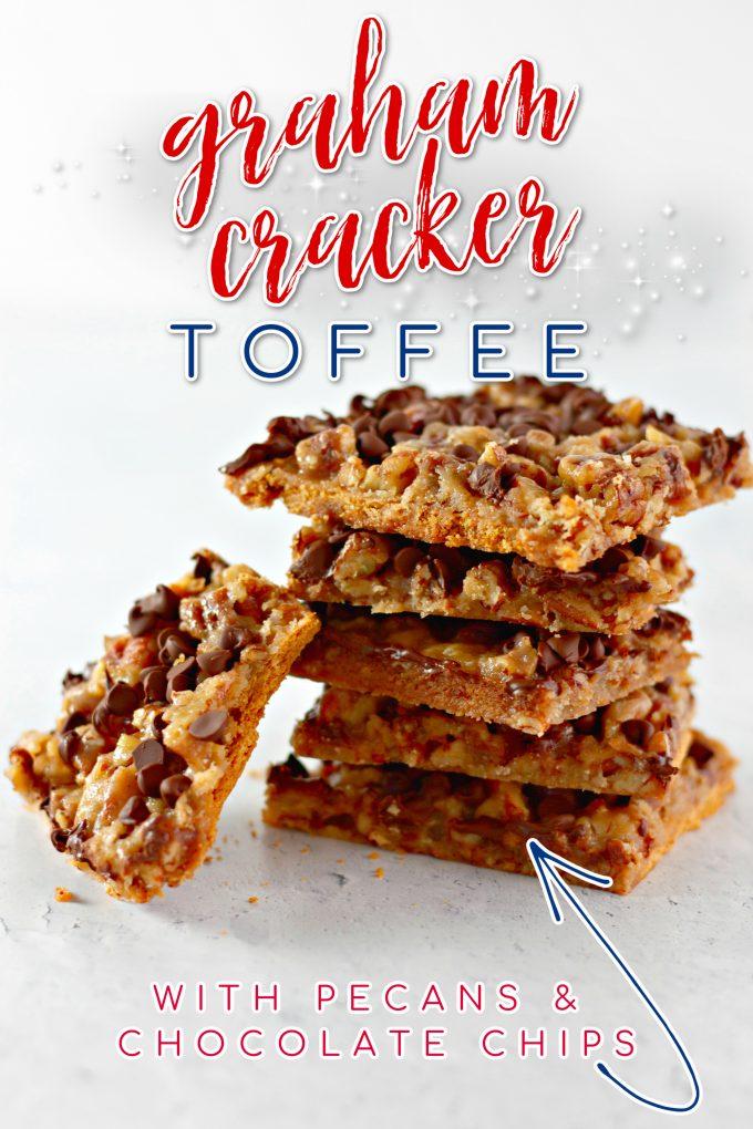 Graham Cracker Toffee on Pinterest