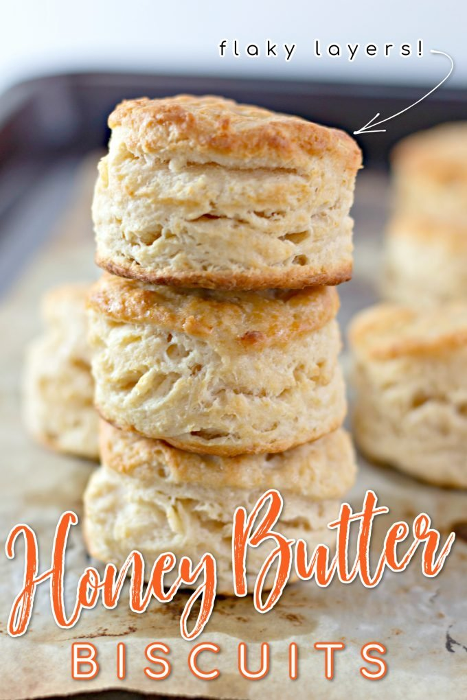 Honey Butter Biscuits on Pinterest