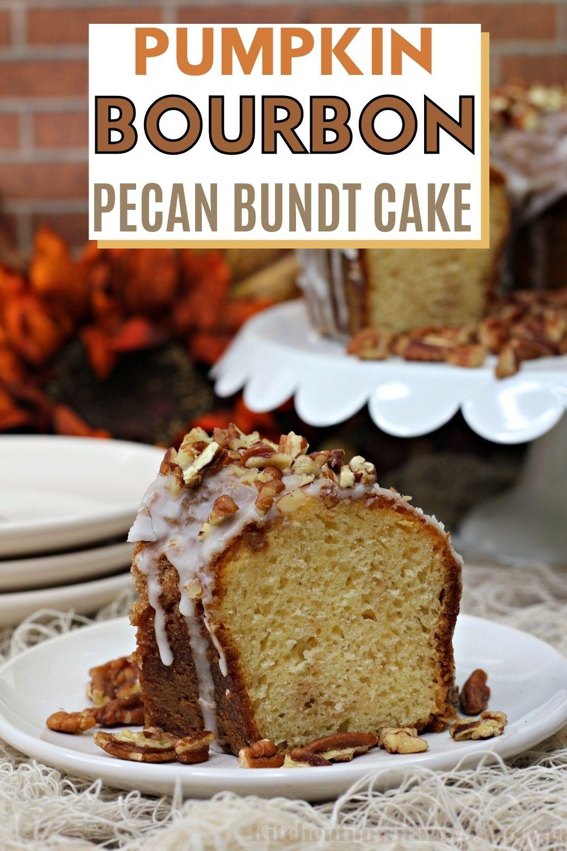 Pumpkin Bourbon Pecan Cake Recipe