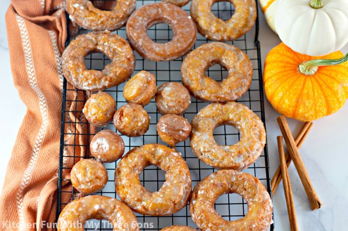 Pumpkin Spice Buttermilk Donuts
