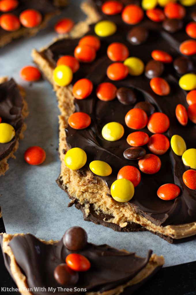 Reese's Peanut Butter Chocolate Bark