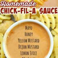 Homemade Chick-Fil-A Sauce