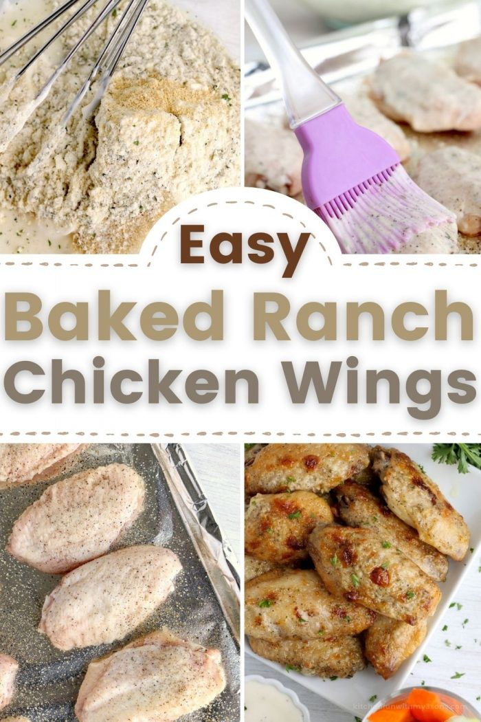 baked ranch chicken wings