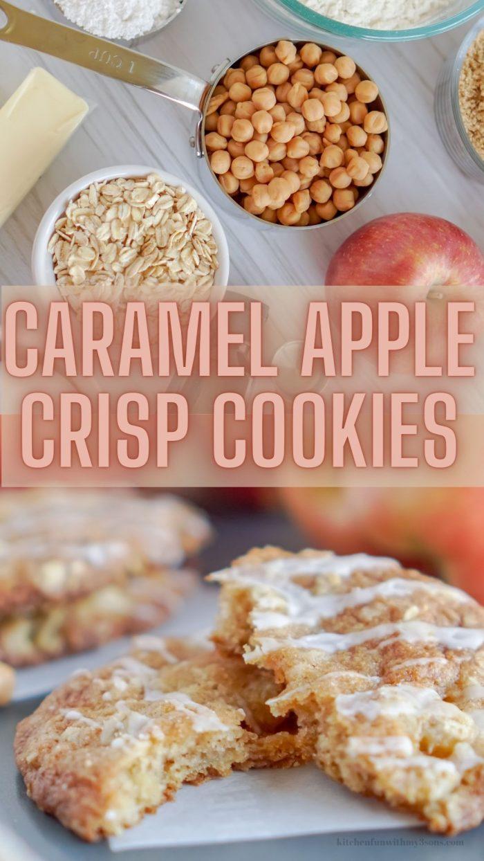 pinterest apple crisp cookies