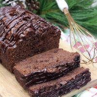 Chocolate Mocha Banana Bread