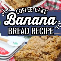 Coffee Cake Banana Bread Recipe
