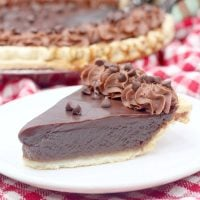 Decadent Chocolate Buttermilk Pie