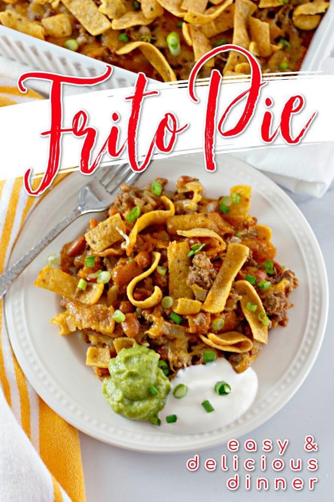 Easy Fritos Pie Recipe