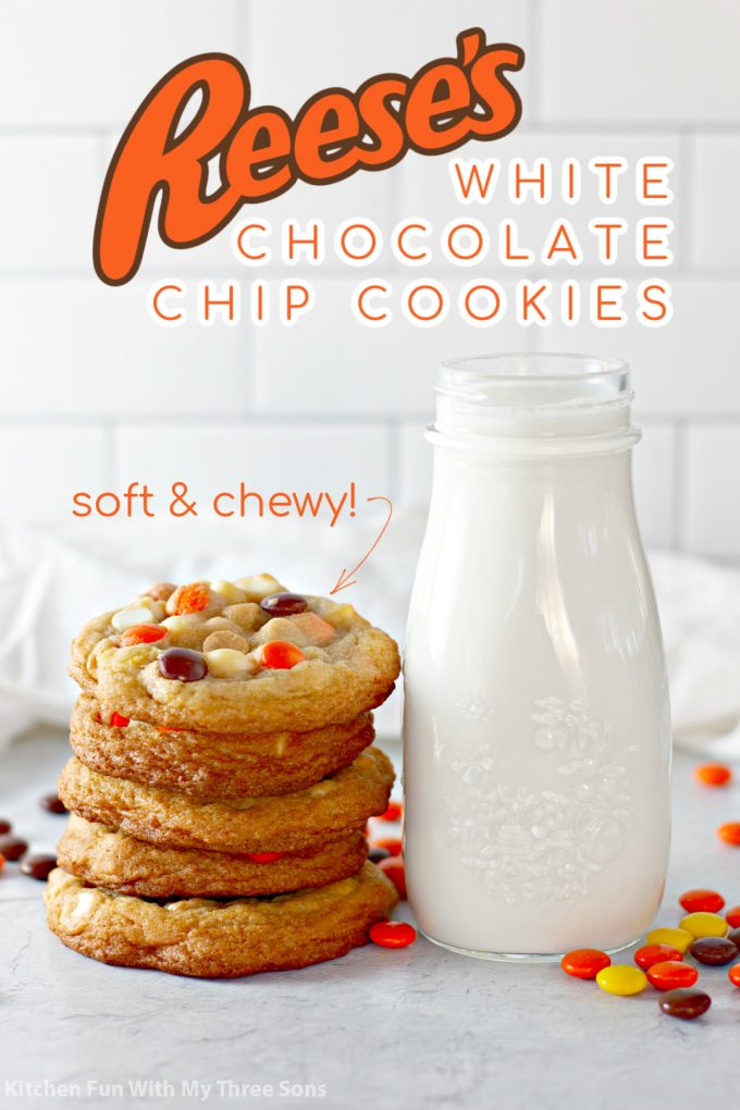 Reese's White Chocolate Chip Cookies