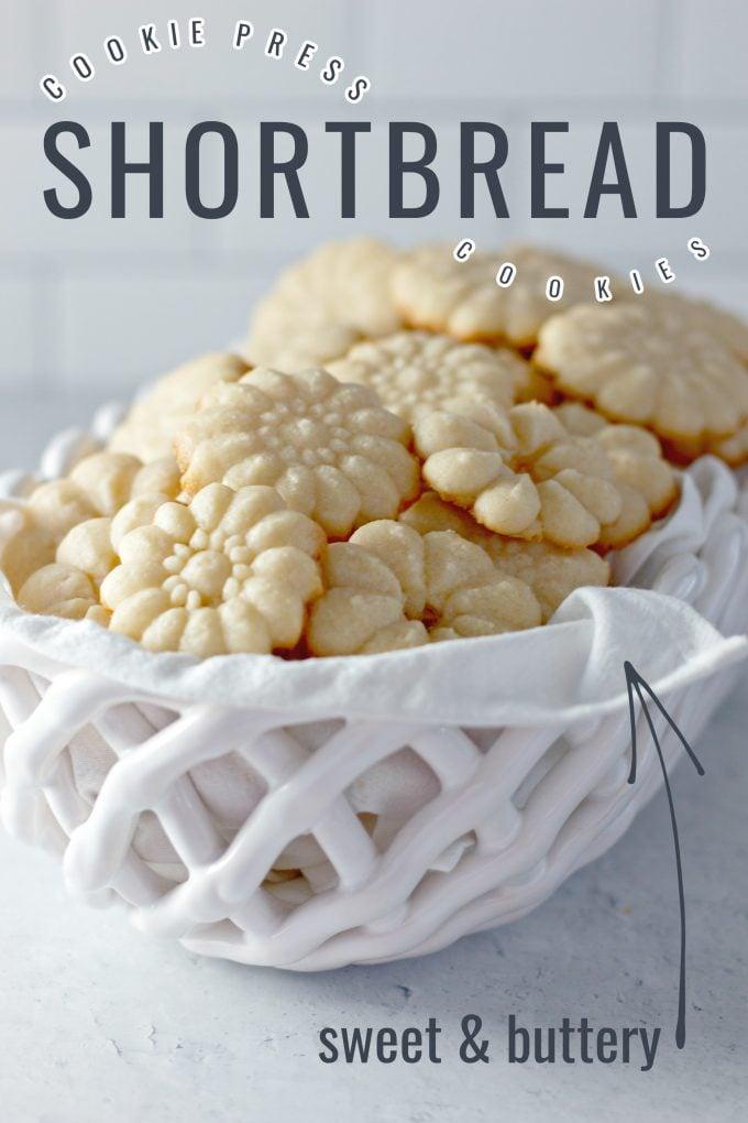 Shortbread Cookie Press Cookies