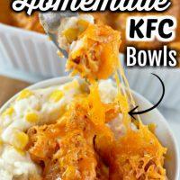 Homemade KFC Bowl Casserole