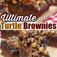 Ultimate Turtle Brownies