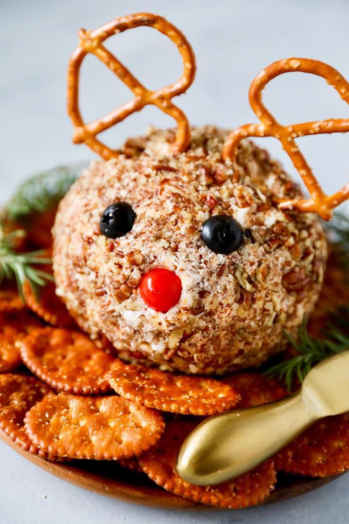 Reindeer Cheese Ball