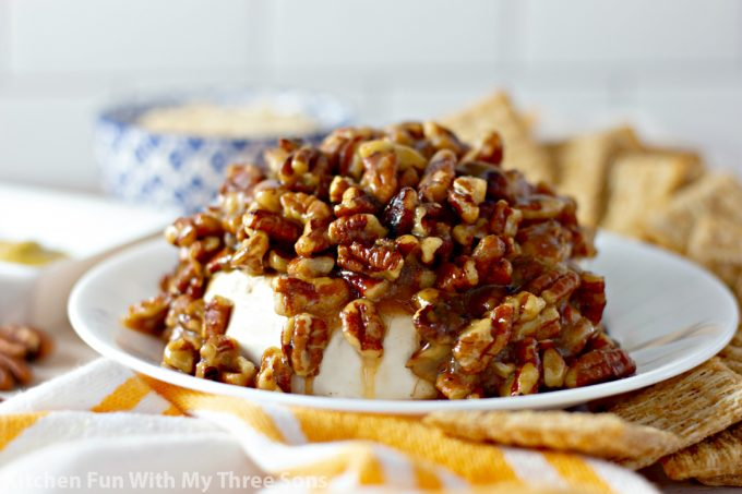 Pecan and Cream Cheese French Quarter Dip
