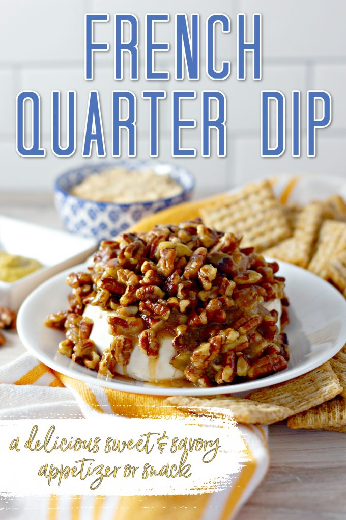 Pecan and Cream Cheese French Quarter Dip on Pinterest