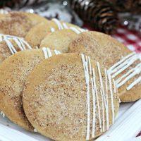 Maple Chai Sugar Cookies