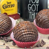Mexican Hot Chocolate Bombs (with Tequila)