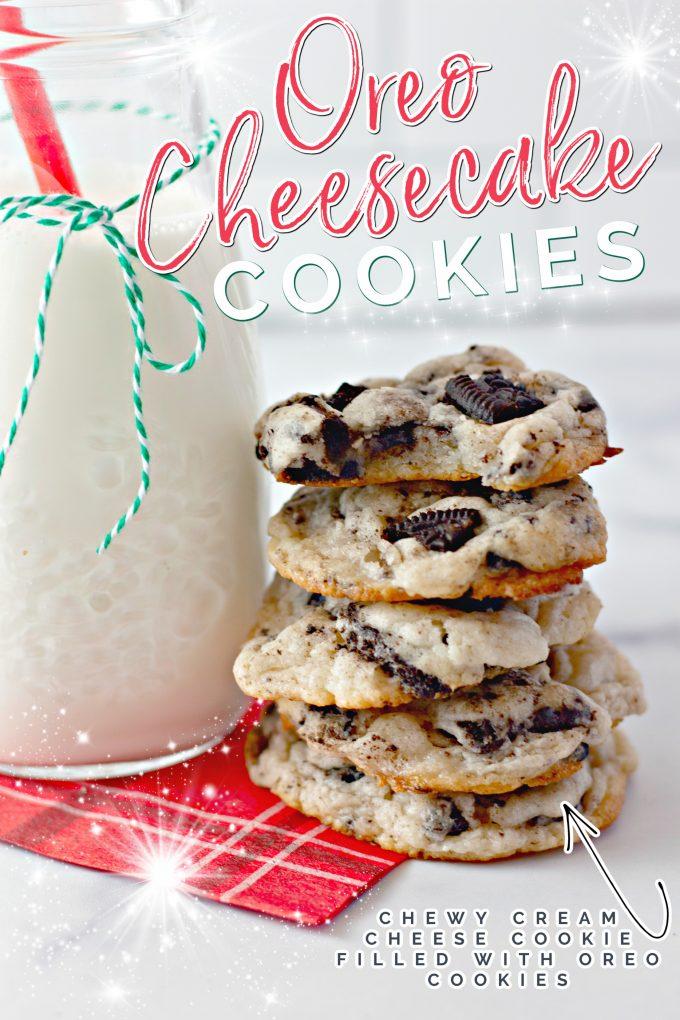 Oreo Cheesecake Cookies on Pinterest