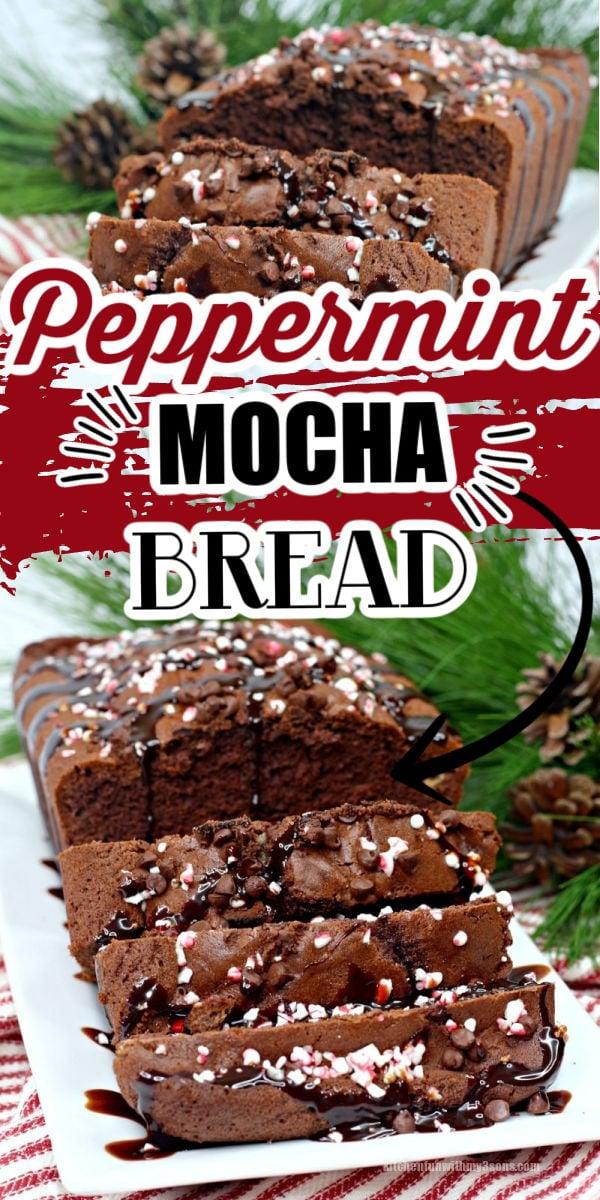Peppermint Mocha Bread