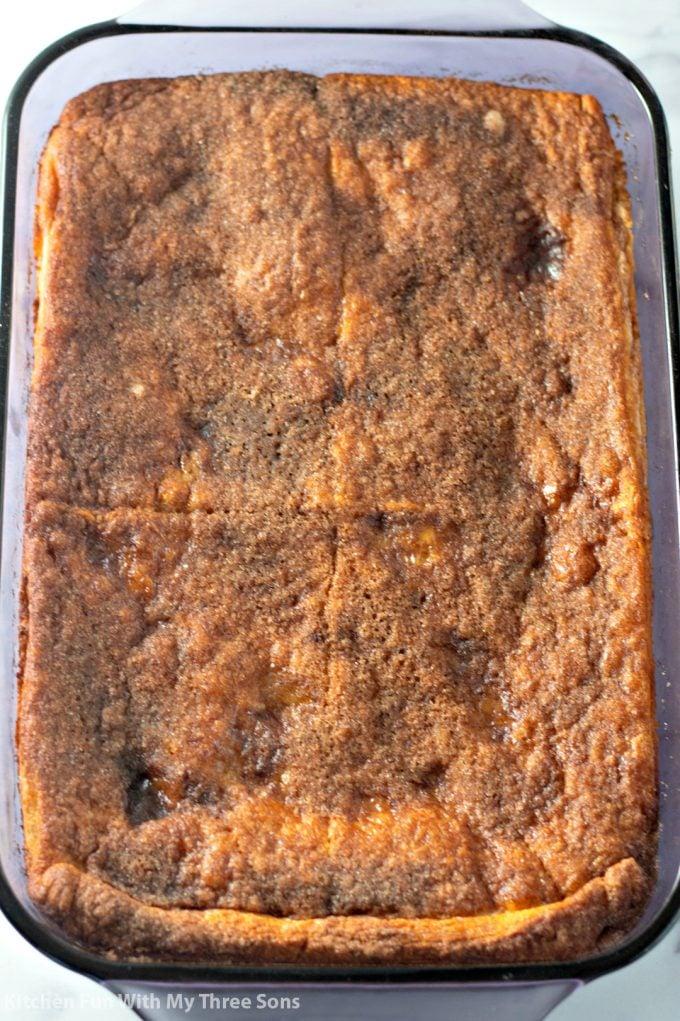 freshly baked Easy Sopapilla Cheesecake Recipe