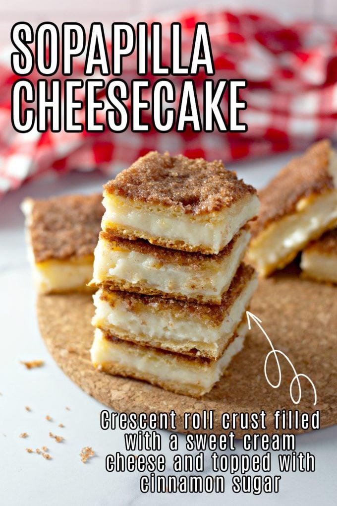Easy Sopapilla Cheesecake Recipe on Pinterest