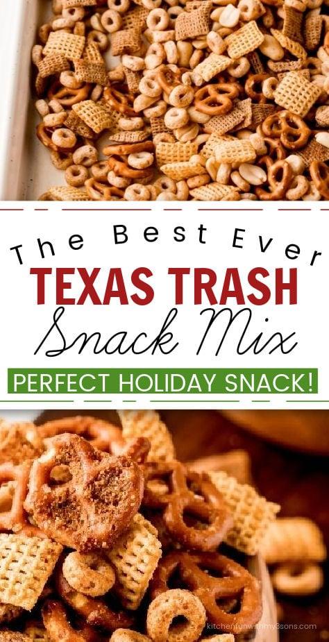Texas Trash Snack Mix