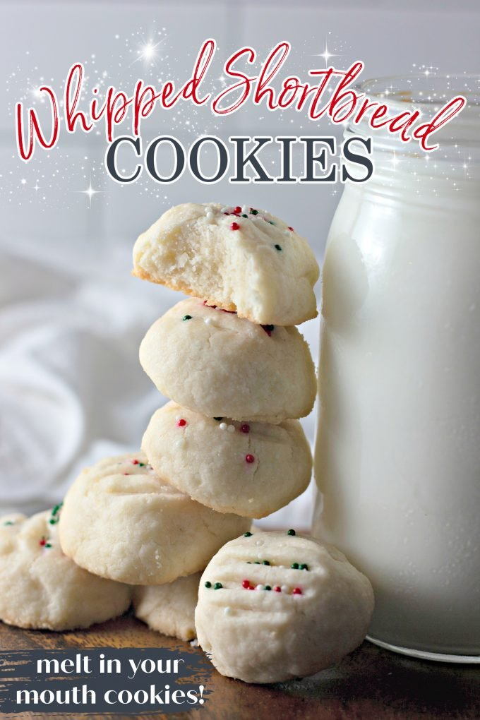 Whipped Shortbread Cookies on Pinterest
