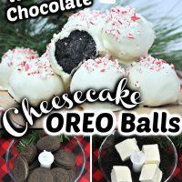 White Chocolate Oreo Balls