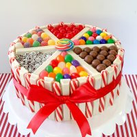 Christmas Candy Cake / When Calls The Heart Cookbook