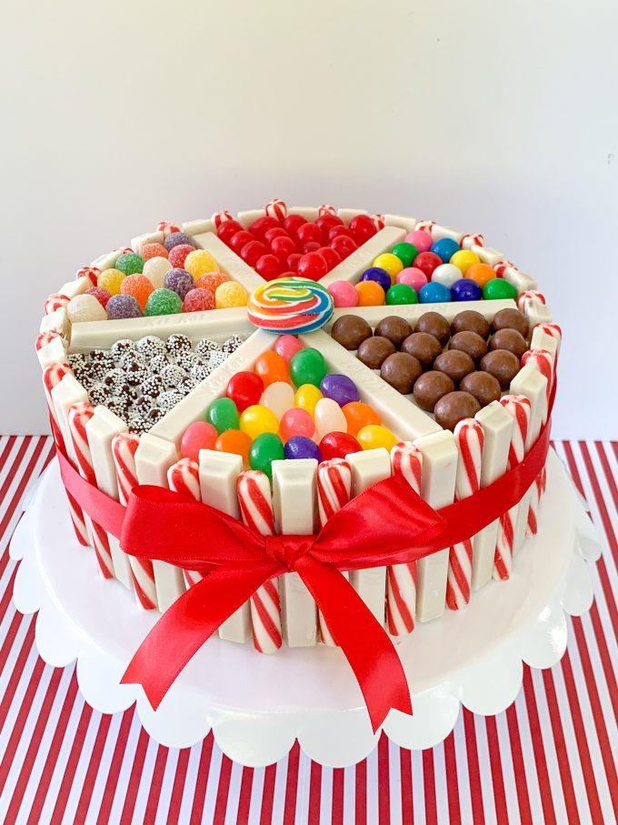 Christmas Candy Cake