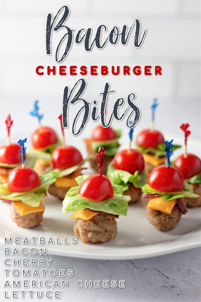 Bacon Cheeseburger Bites on Pinterest