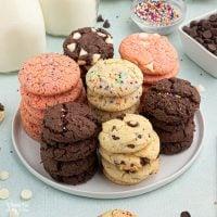 Cake Mix Cookies (3 ways)