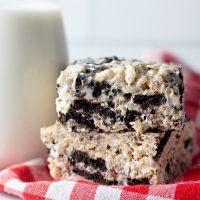 Oreo Rice Krispie Treats