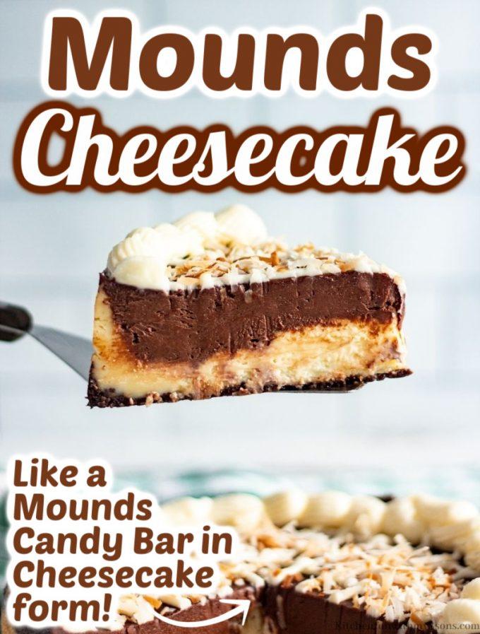 Mounds Cheesecake
