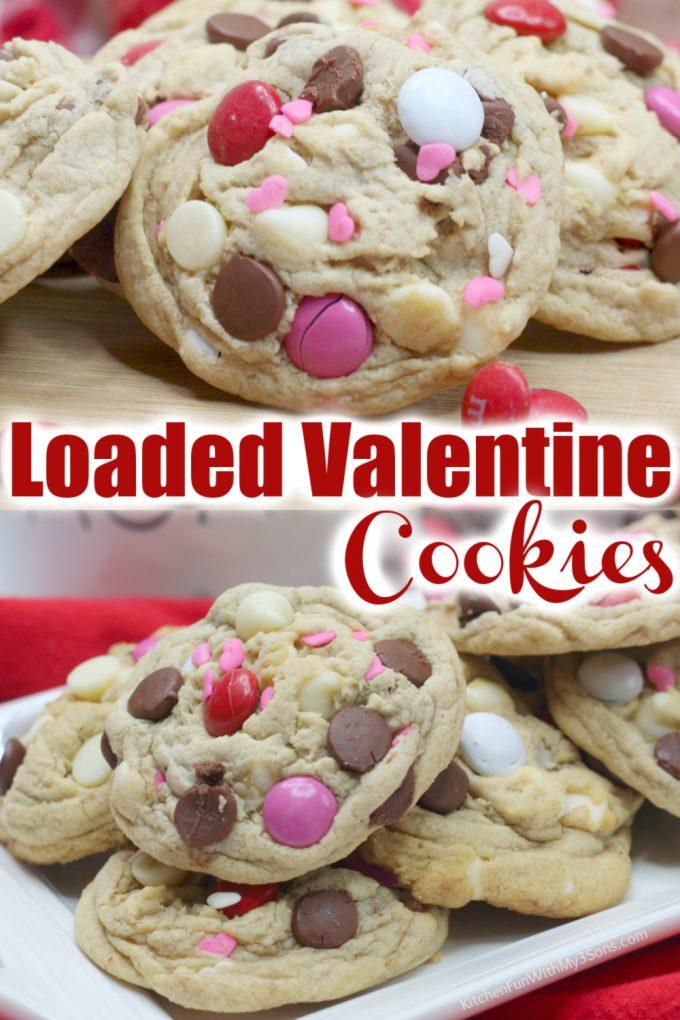 Valentine's Day Chocolate Chip Cookies
