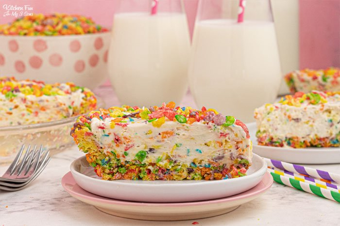 Fruity Pebbles Cheesecake