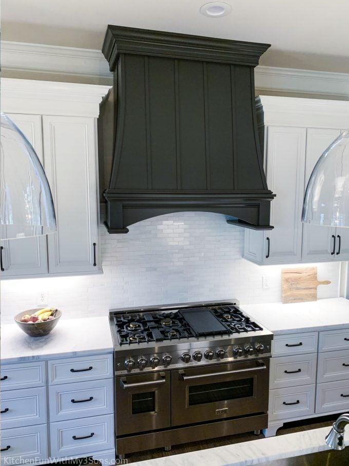 Kitchen Remodel Hood and Range