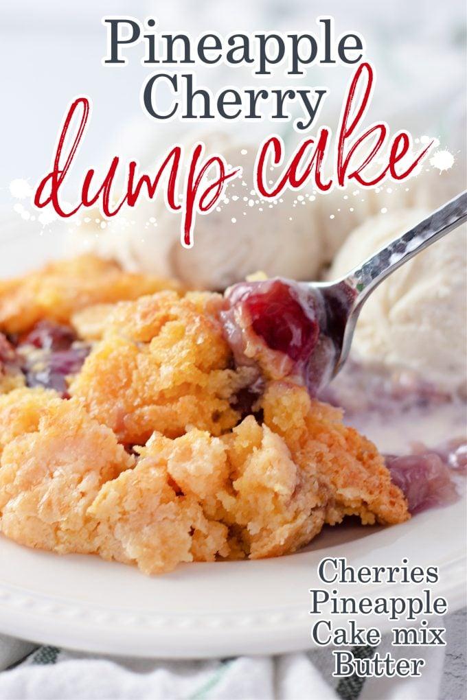Pineapple Cherry Dump Cake on Pinterest.
