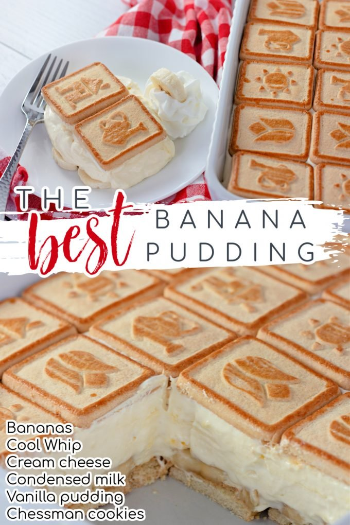 The Best Banana Pudding Recipe on Pinterest.