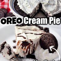 No-Bake OREO Pie