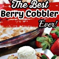 How to Make the Absolute Best Berry Cobbler