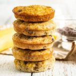 Banana Chocolate Chip Muffin Tops