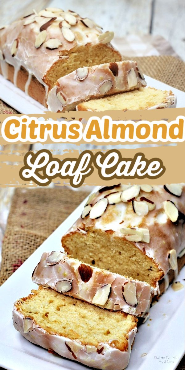 A Moist and Delicious Citrus Almond Loaf Cake
