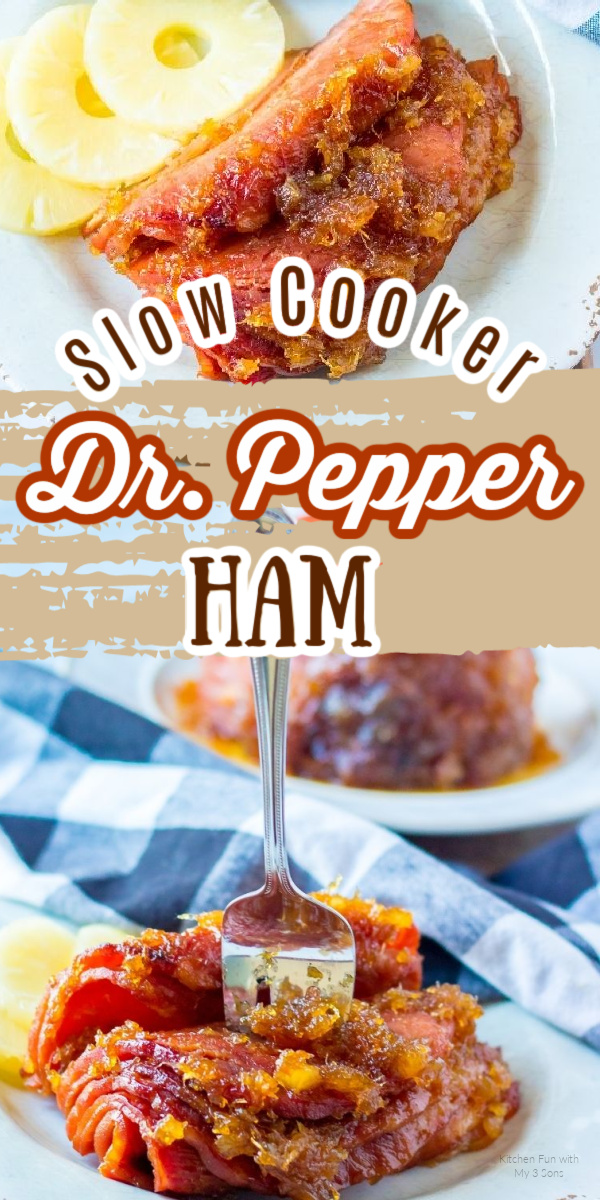 How to Make Dr. Pepper Ham in a Slow Cooker