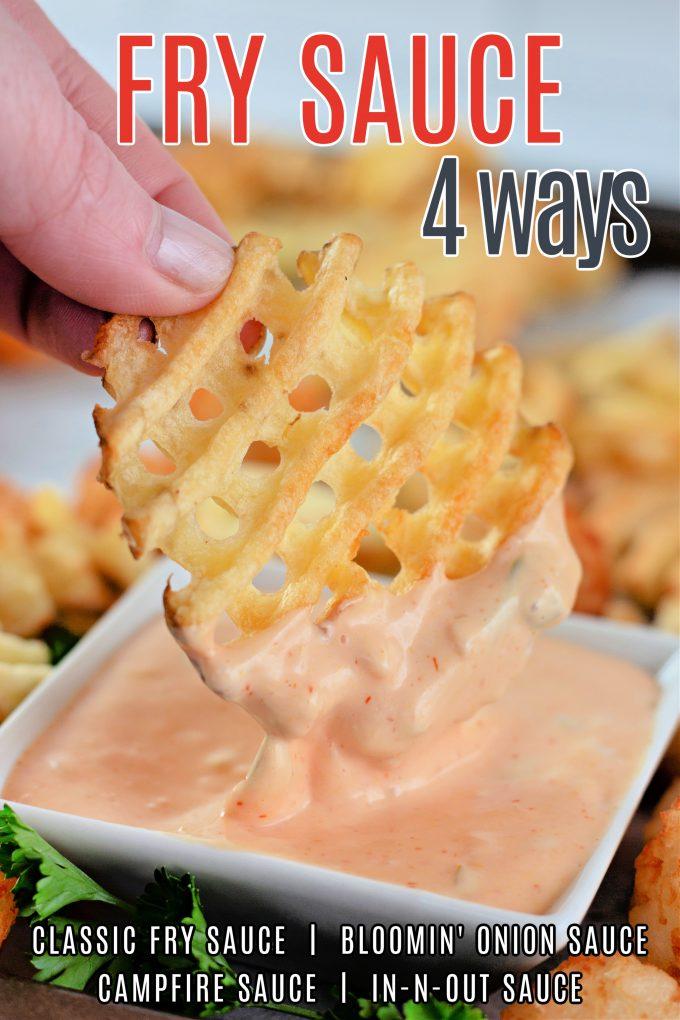 Fry Sauce 4 Ways on Pinterest.