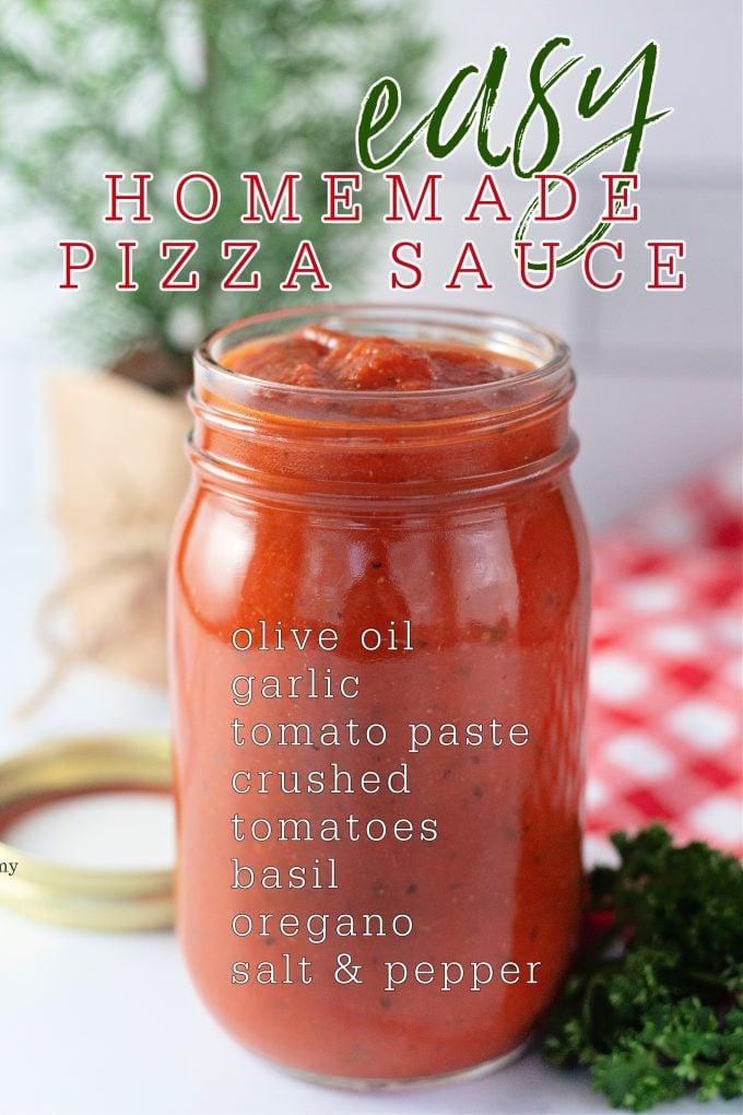 Easy Homemade Pizza Sauce on Pinterest.
