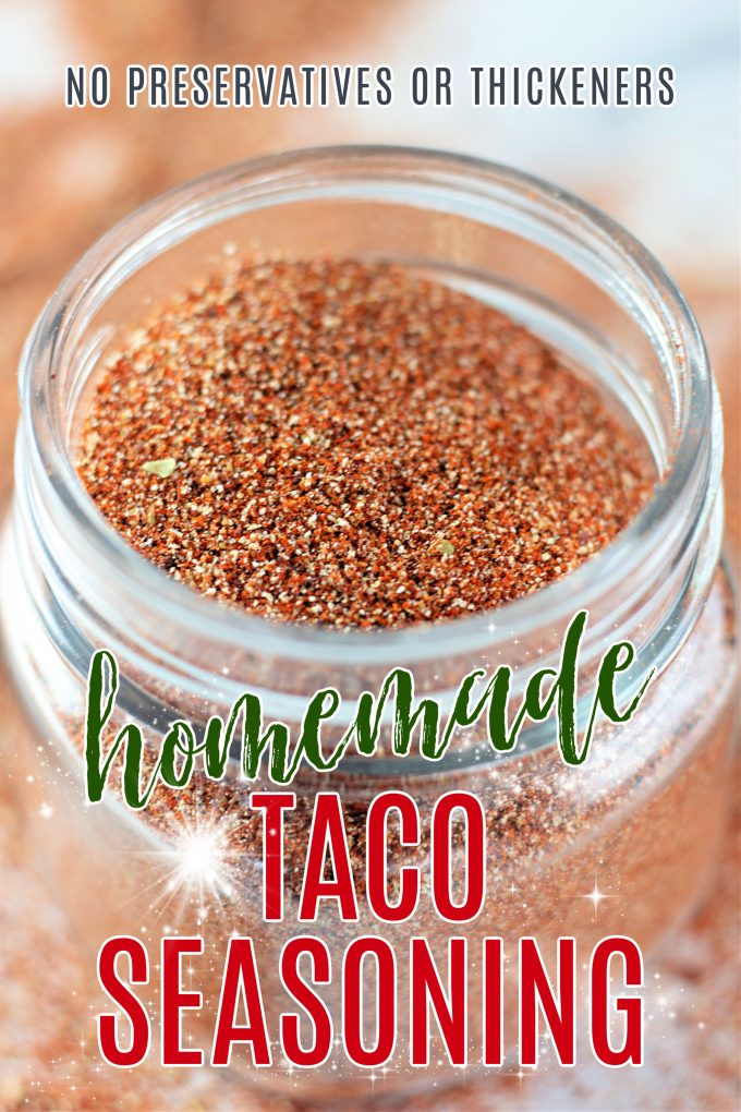 Homemade Taco Seasoning on Pinterest.