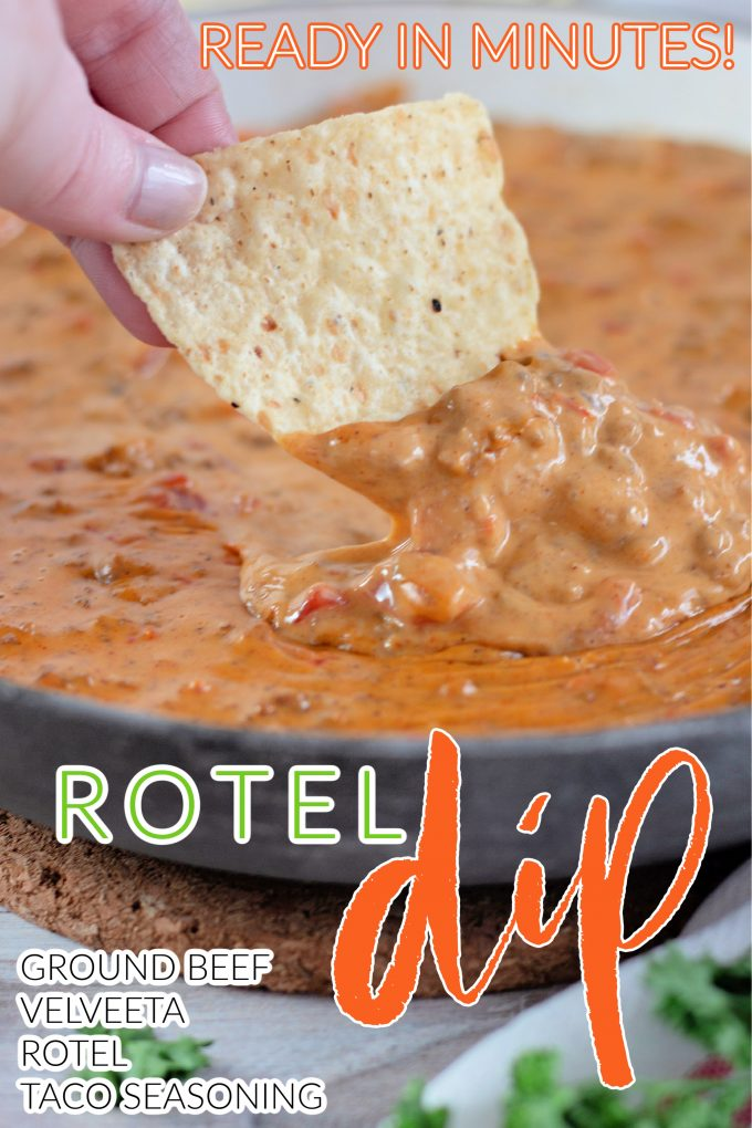 Rotel Dip with Ground Beef on Pinterest.