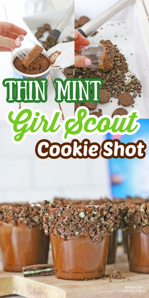 How to Make Thin Mint Girl Scout Cookie Shot