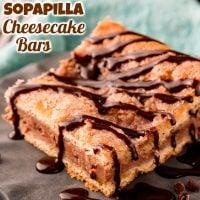 Chocolate Sopapilla Cheesecake Bars